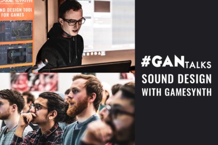 gan (game audio north) talks blog banner