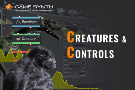 creatures and control signals in gamesynth blog banner