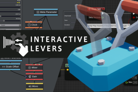 interactive levers with gamesynth and ue4